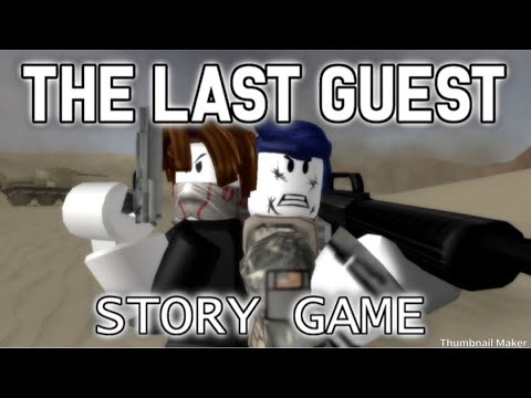 The last guest story game (gameplay) ROBLOX |