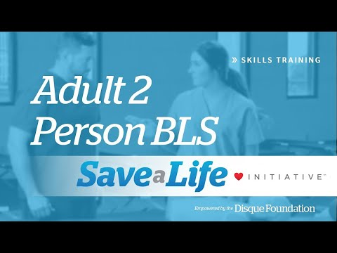 Adult 2 Person BLS
