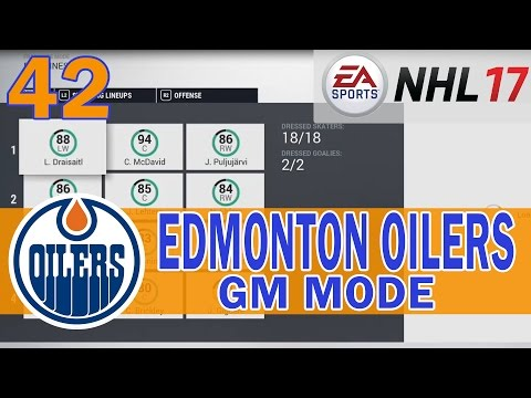 YR 4 Free Agency PART 2 | NHL 17 Edmonton Oilers Franchise Mode Ep. 42