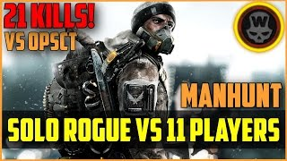 Division - Solo Rogue vs 11 players ft OPsct! 25kills!! No Survivor Link!