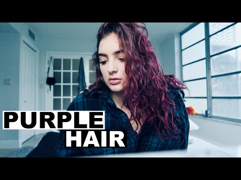DYING MY HAIR (I didn't tell anyone) | Sofia Conte