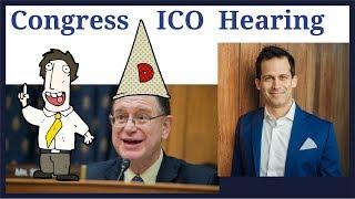 Congressman Brad Sherman US Representative embarrasses himself at Cryptocurrency ICO hearing