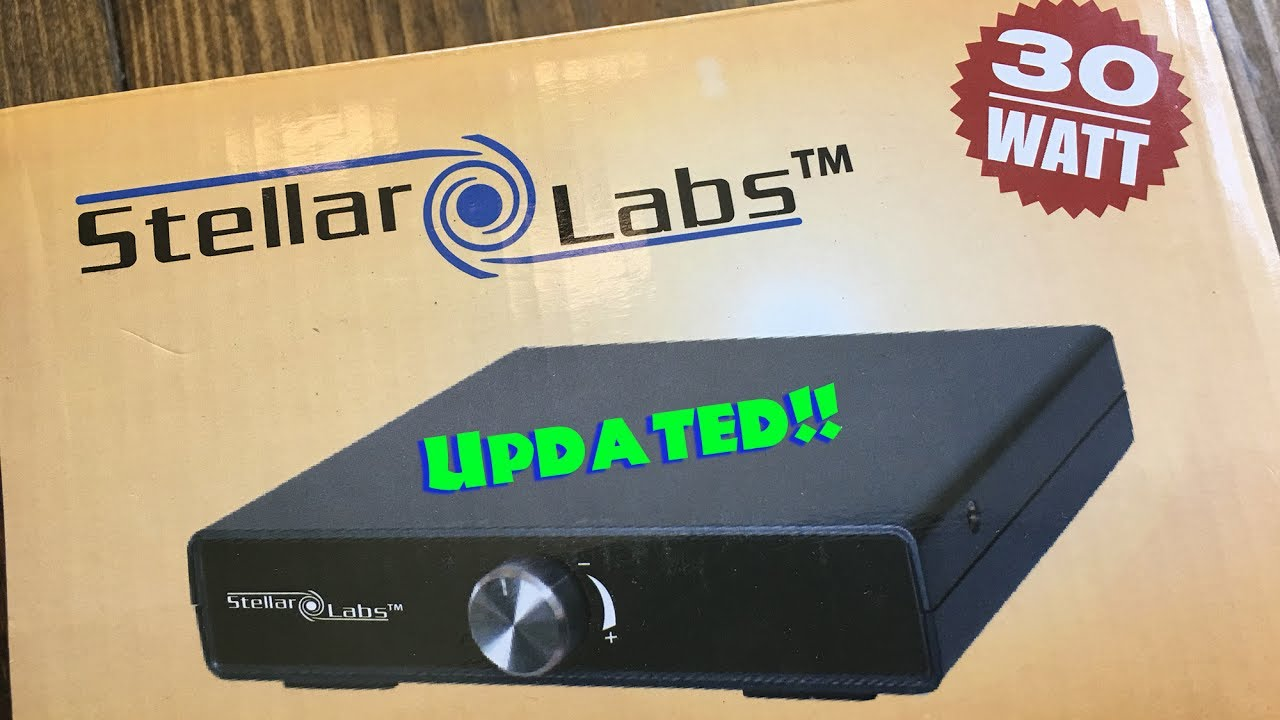 Is it Stellar? MCM Electronics Stellar Labs 15x2 Class T Amplifier Review  (Updated)