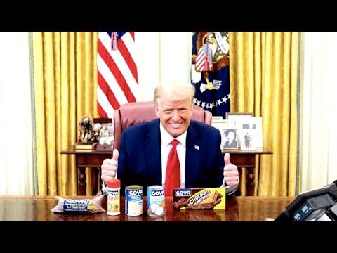 Trumps tweet support for Goya amid boycott calls