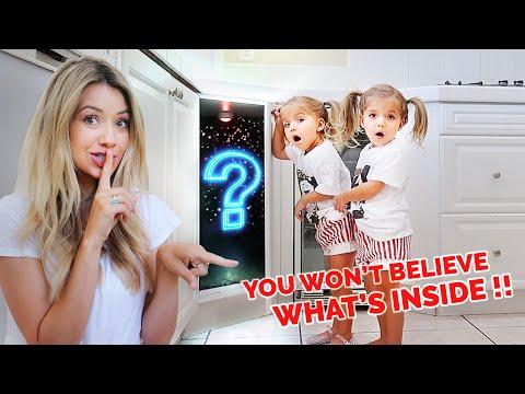 Twins Discover Hidden Room We Built! *Cutest Reaction*