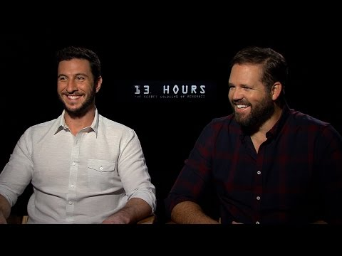 Pablo Schreiber and David Denman on '13 Hours' and Playing Real Life Heroes
