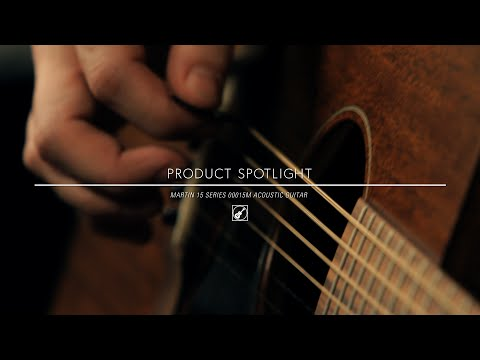 Product Spotlight - Martin 15 Series 00015M Acoustic Guitar