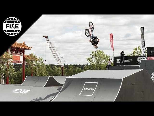Charlotte Worthington 3rd Place - UCI BMX Freestyle Park Women World Cup Final | FISE Edmonton 2018