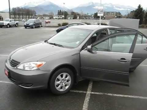 2003 Toyota Camry For Sale >> Sold 2003 Gray Toyota Camry Le For Sale At Valley Toyota Scion