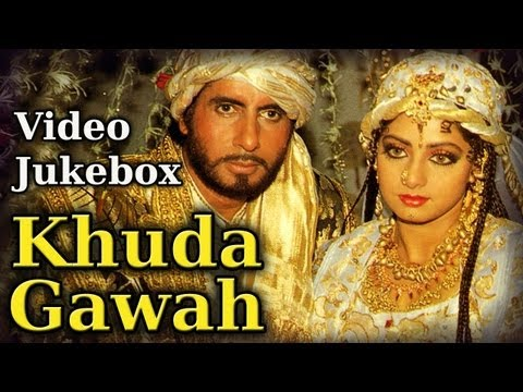 Khuda Gawah (HD) - All Songs - Amitabh Bachchan - Sridevi - Mohd.Aziz - Alka Yagnik