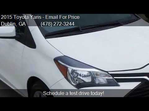 2015 Toyota Yaris For Sale In Dublin, GA 31021 At Pitts Toy