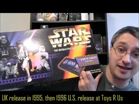 From the Star Wars Home Video Library #63: The Interactive Video Board Game