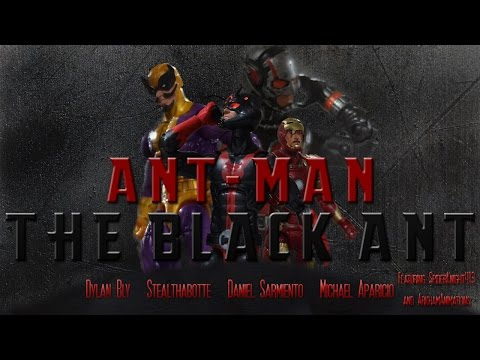 Ant-Man Stop Motion: The Black Ant