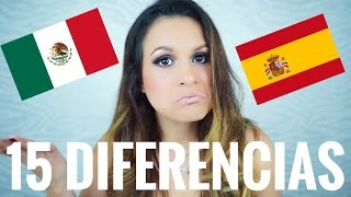 15 diferencias México - España | Ande Asiul
