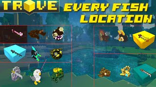 -JNP- Trove Tips aฑd Tricks: All Fishes Locations Guide! (Pre and Post Delves Update)