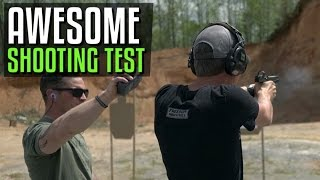 Awesome Shooting Test to Gauge Speed and Accuracy