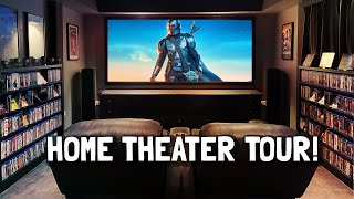 4 EPIC Home Theater Tours! YouTube Collab! 4K Dolby Atmos 7.4.4 Klipsch, Paradigm, Polk, Vandersteen