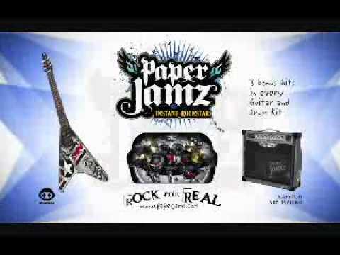 Paper Jamz Guitars - Toys R Us