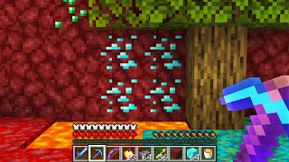 Minecraft, But I Swiтched The Nether With The Overworld...