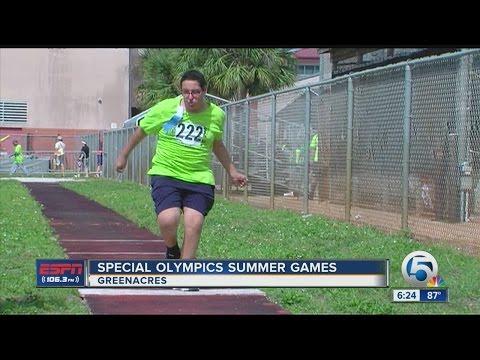 Special Olympics Summer Games at John I Leonard High School