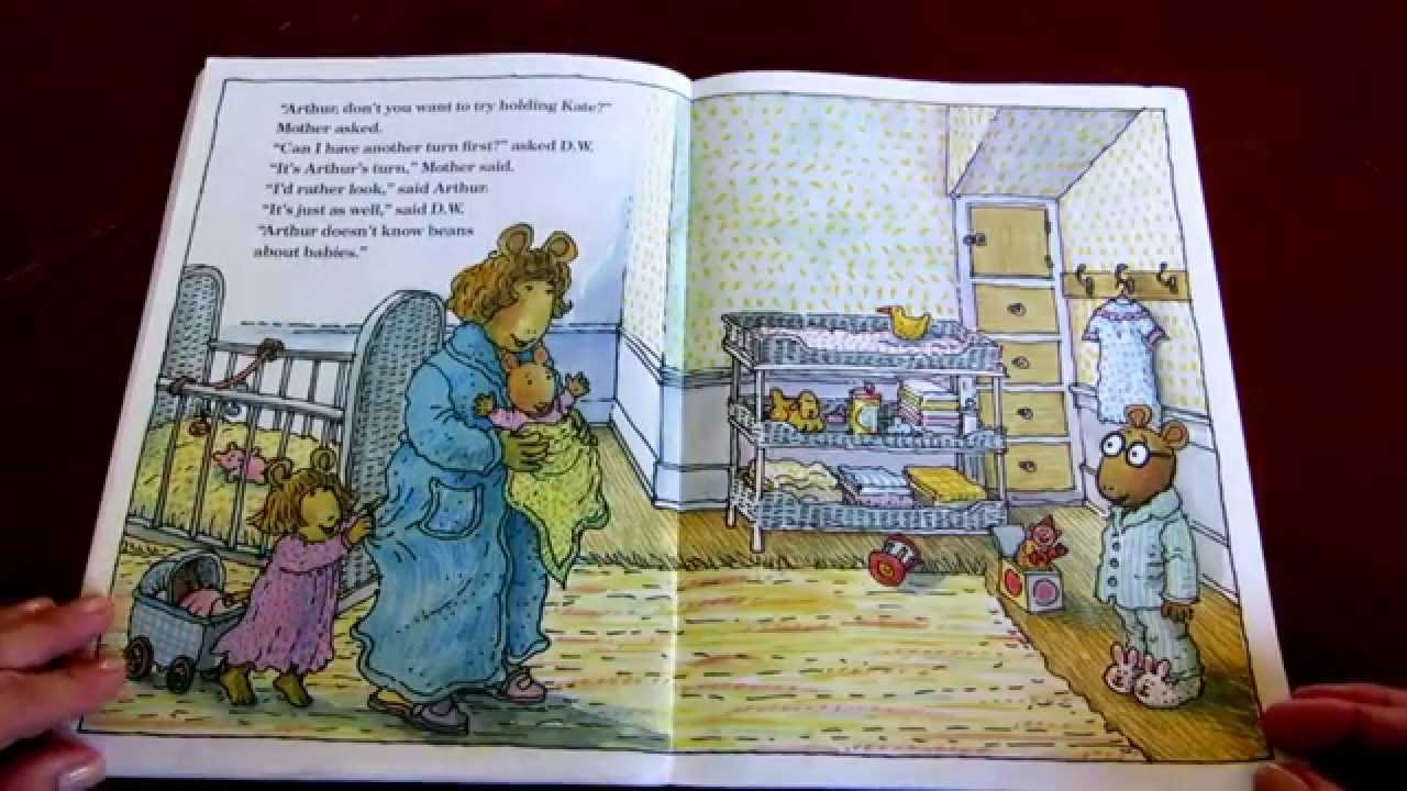 AlaskaGranny Read Aloud ARTHURS BABY By Marc Brown YouTube