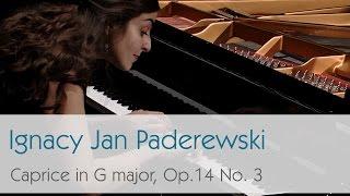 Ignacy Jan Paderewski - Caprice in G major, Op. 14 No. 3 - Violetta Khachikyan