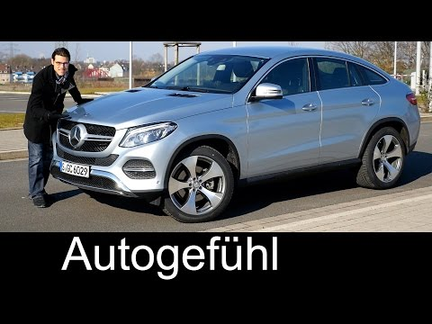 Mercedes GLE Coupé FULL REVIEW test driven 400 4MATIC (close to 450) 2017 new ML-Class Facelift neu