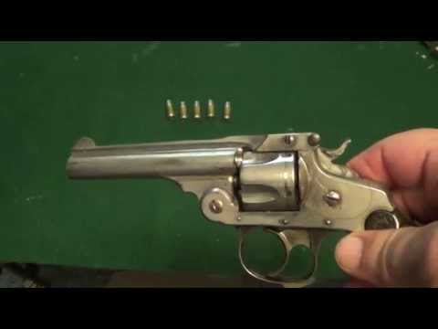 S&W 4th Model 32 Top Break Revolver