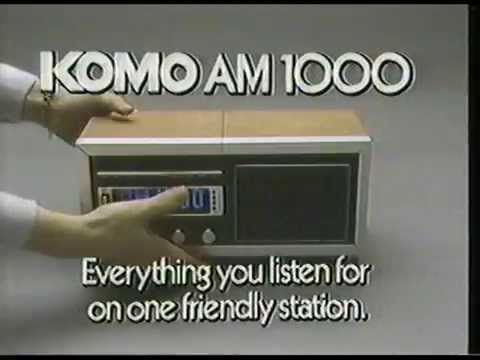 1984 KOMO AM 1000 Promo with Larry Nelson