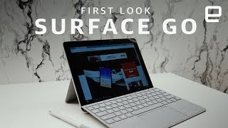 The Surface Go is Microsoft's smallest and cheapest tablet yet, wit...