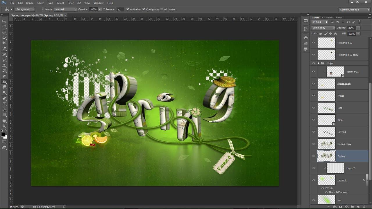 ¿como puedo hacer un foto montaje con adobe photoshop cs5