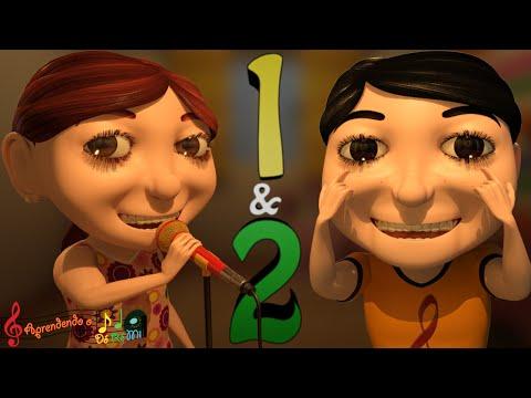 Aprendendo os Números: 1 & 2 (Música Educativa Infantil para Alfabetização)