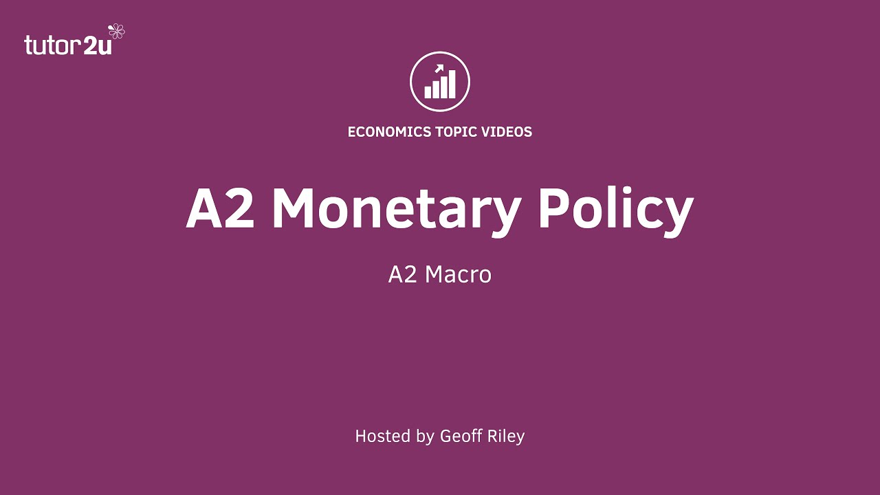 a monetary policy  a2 monetary policy 2016