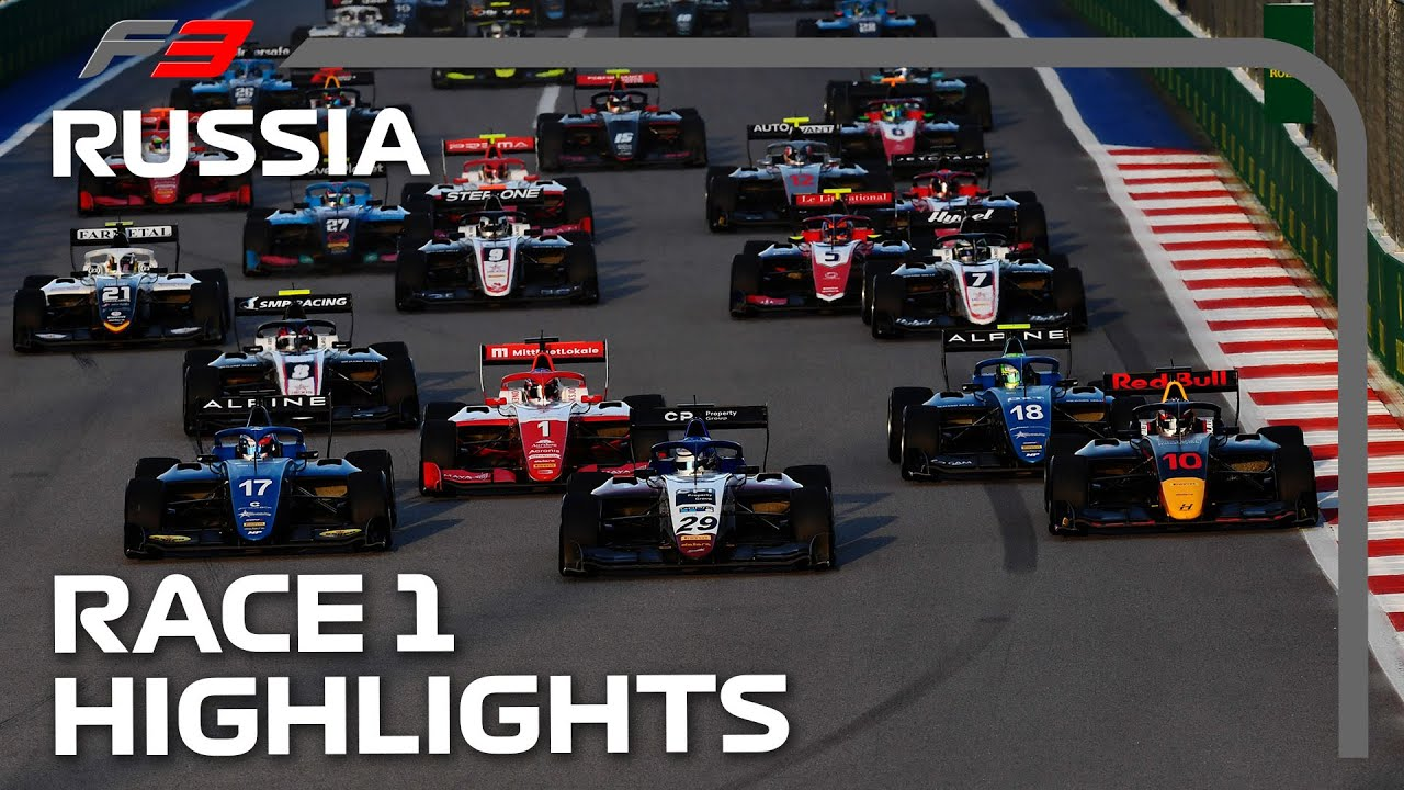 Download New Champion Crowned?! F3 Race 1 Highlights | 2021 Russian Grand Prix