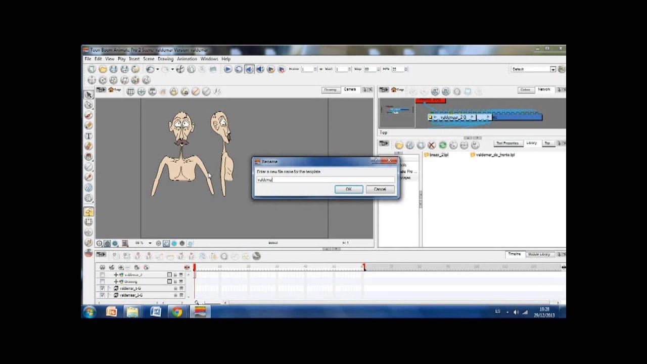 Reutilizar Personajes - Toon Boom Animate Pro 2