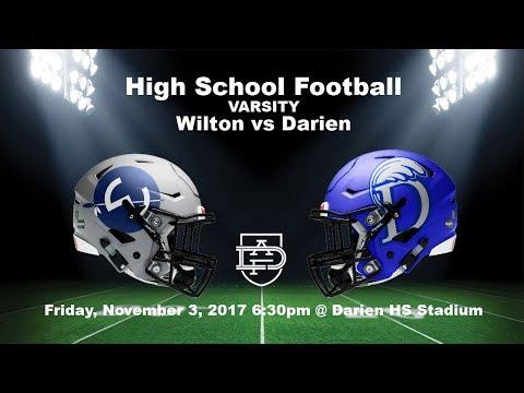 Darien Varsity Football vs Wilton