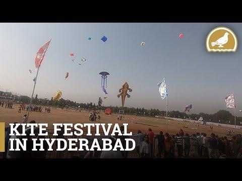 A Glimpse of International Kite Festival 2019 - Hyderabad