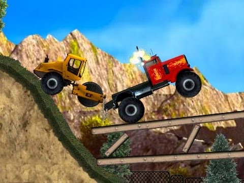 Grandes camiones y vehculos de dibujos animados para nios