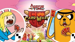 Card Wars - Adventure Time Card Game New Update Battle With Join Fionna And Cake Hero cards!