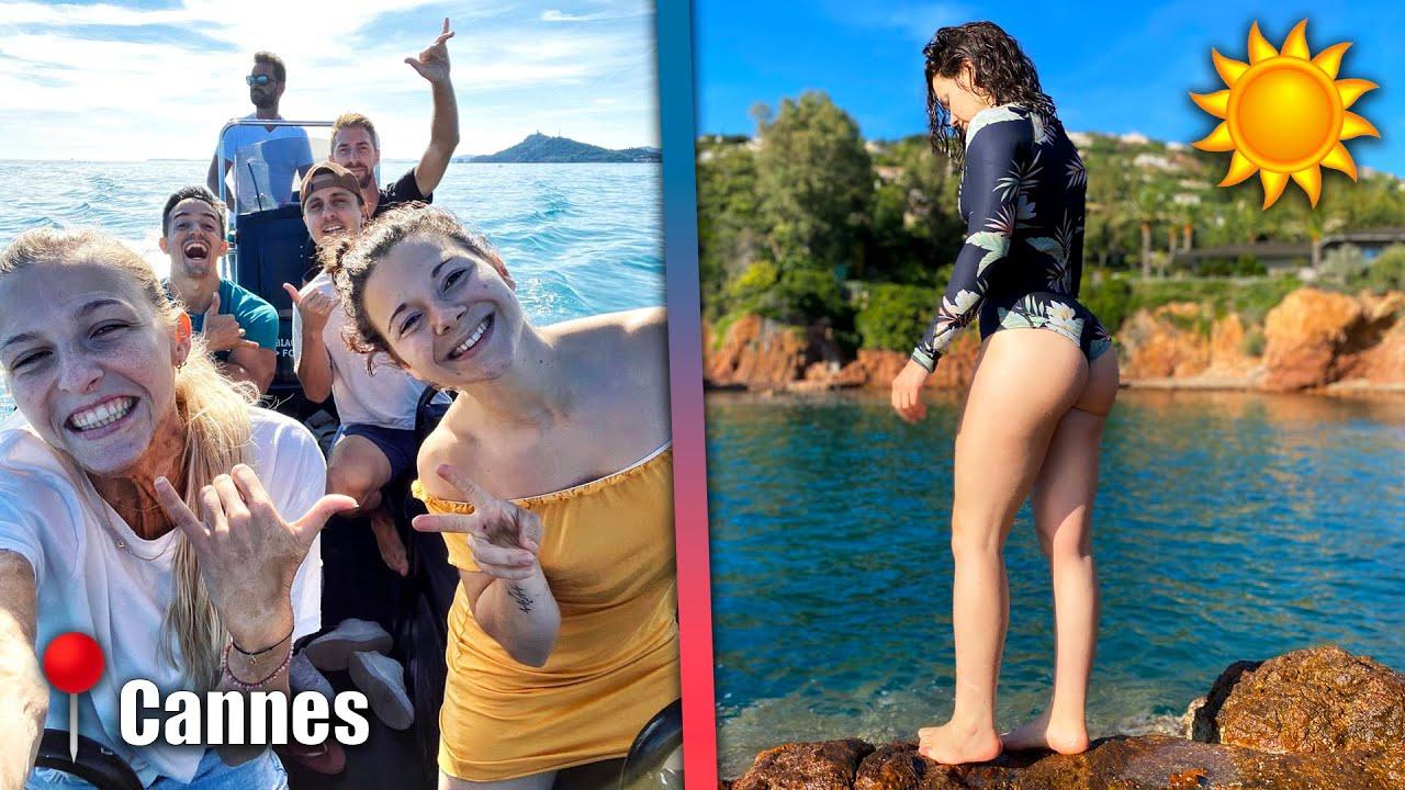 NOS VACANCES À CANNES AVEC TROP DE GENS COOLS ! (Les Bibaos en Voyage #2) ft. @Tibo InShape