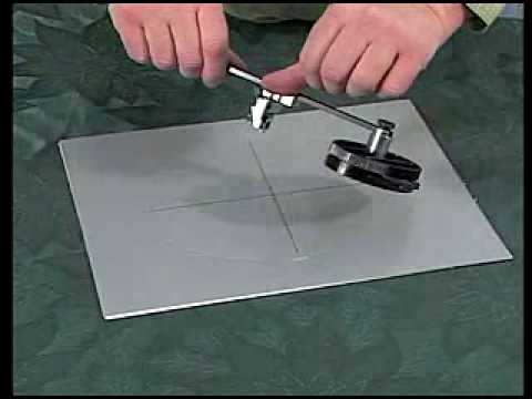 Logan Oval And Circle Mat Cutter Youtube