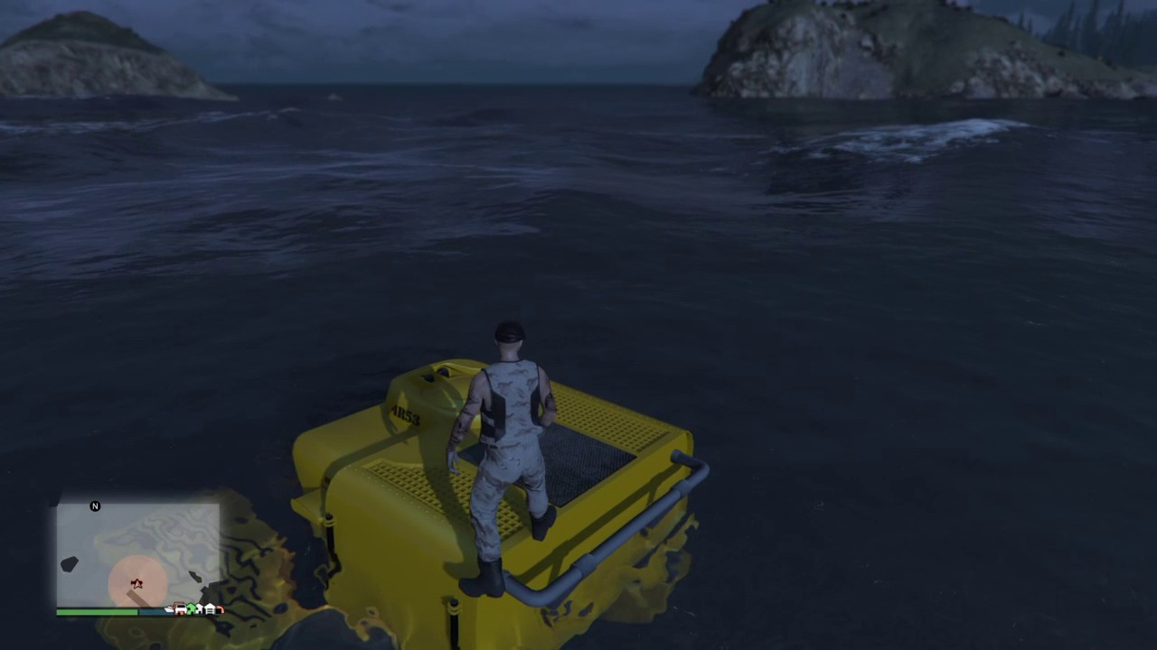 GTA 5 - Paleto Bay Triangle! And possible underwater platform?
