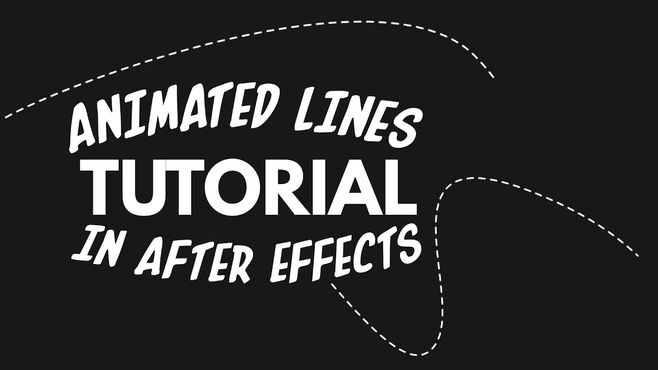 Drawing Lines In Asp : How to animate a line in after effects youtube