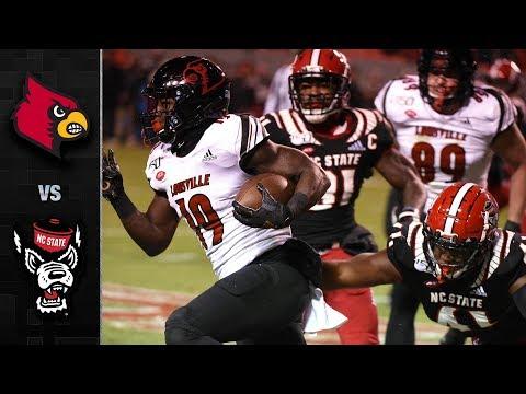 Louisville Vs. NC State Football Highlight (2019-18)