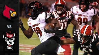 Louisville vs. NC State Football Highlight (2019-18)