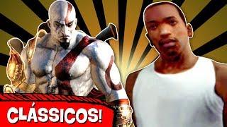 5 Jogos de PS2 que viraram CLÁSSICOS! 🎮 😱