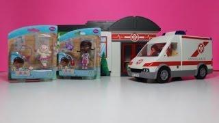 דוק רופאת צעצועים - דוק לוקחת את למבי לבית חולים