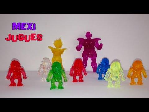 Dragonball Z - SAGA SAIYAJIN - Figuras De Goma Translucidas 2019