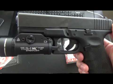 Streamlight TLR 1 Review + Install on Glock 19