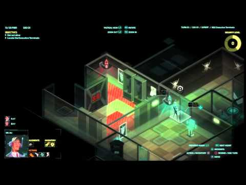Let's play Invisible INC console EXPERT RUN #(013)